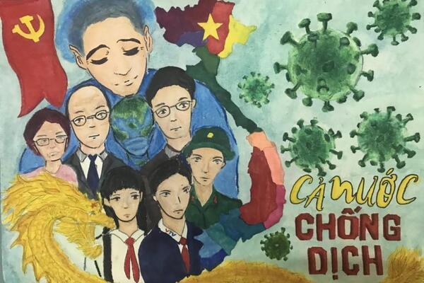 Vẽ tranh vững tin Việt Nam